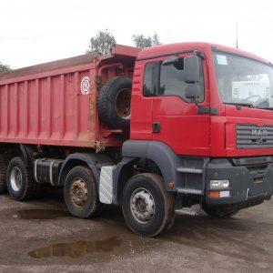 MAN TGA 41.480, грузовой самосвал в Ялте