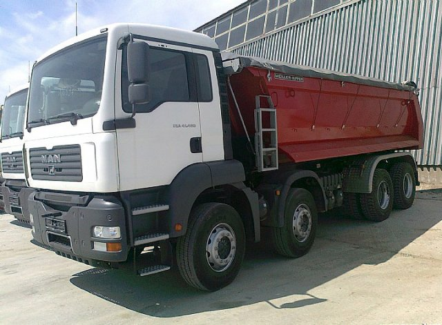 MAN TGA 41, грузовой самосвал в Крыму